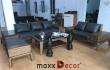 2019 phòng khách sang trọng đẳng cấp với bộ sofa gỗ óc chó maxxDecor