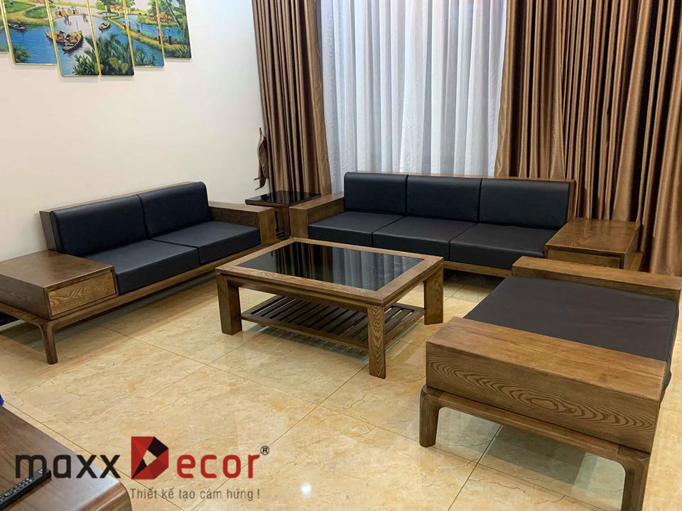 sofa gỗ tự nhiên MDG 139