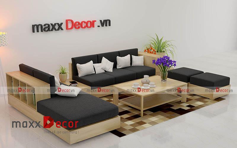 3 Mẫu Sofa Gỗ đẹp Hiện đại Cho Phong Khach Tại Maxxdecor