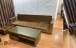 Thiết kế sofa gỗ tự nhiên đẹp cho khách hàng Văn Khê - Hà Đông