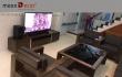 Chọn ngẫu nhiên 5 mẫu sofa gỗ tại nhà khách đẹp không tì vết