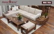10 mẫu sofa gỗ óc chó chất như nước cất ai nấy đều ưng