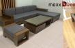 Sofa gỗ maxxDecor đã có mặt tại nhà khách đón tết Canh Tý