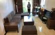 Bàn giao bộ combo sofa gỗ - bàn ăn gỗ óc chó tại Hàng Mã - Hà Nội