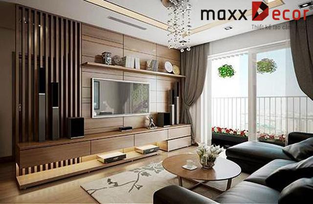 Thiết kế nội thất chung cư maxxDecor