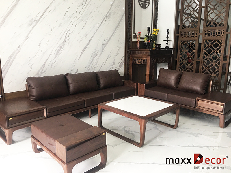 Sofa gỗ hiện đại MDG 229